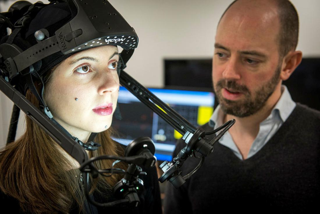 CAMERA Prof. Darren Cosker invited to speak at Bristol VR Lab