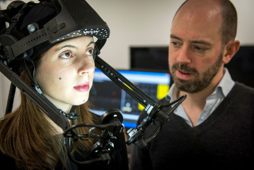 CAMERA Prof. Darren Cosker invited to speak at Bristol VR Lab