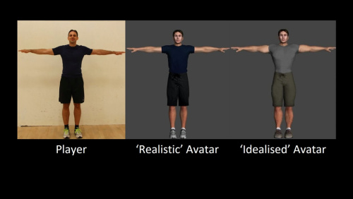 CAMERA Buffed-up avatars deter us from exercising hard