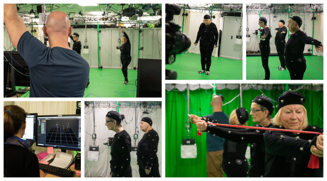 CAMERA Motion capture technology used to prevent falls in older people