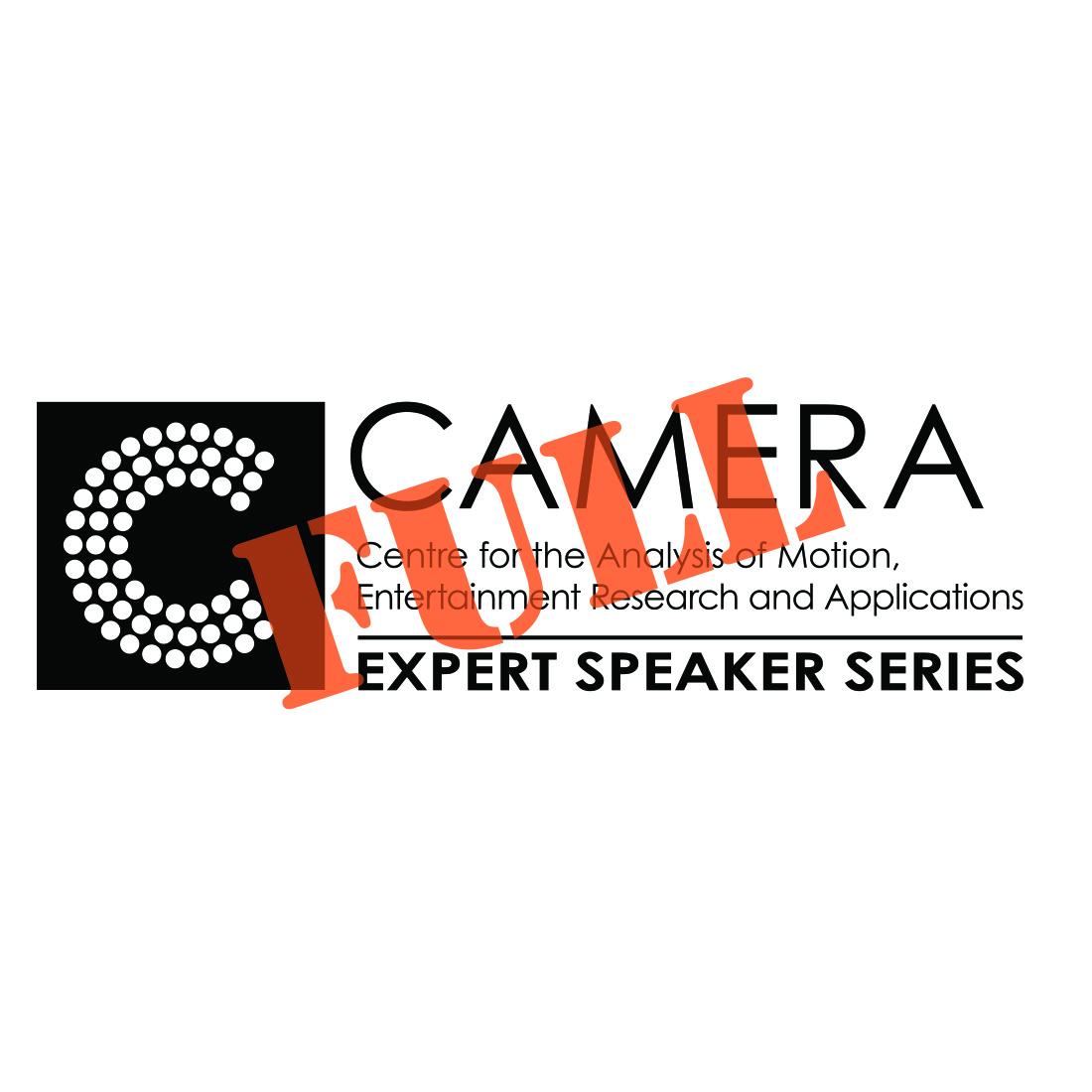 CAMERA REGISTRATION CLOSED: CAMERA Expert Speaker Series 25th September
